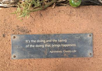 Quote from Babylontoren garden