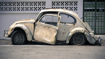 An outdated online presence is about as impressive as an abandoned car.